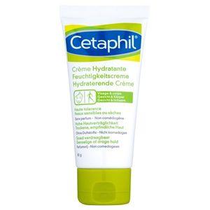 Cetaphil Moisturizers hidratáló krém arcra és testre száraz és érzékeny bőrre 85 ml kép