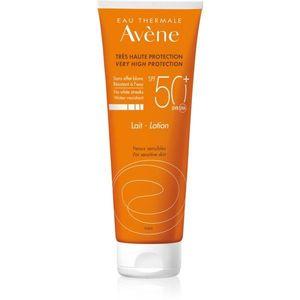 Avène Sun Sensitive Védő tej az érzékeny bőrre SPF 50+ 250 ml kép