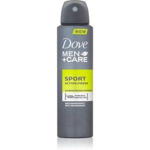Dove Men+Care Sport Active+Fresh izzadásgátló spray uraknak 150 ml kép