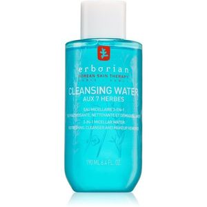 Erborian 7 Herbs Cleansing Water micellás víz normál és száraz, érzékeny bőrre 3 az 1-ben 190 ml kép
