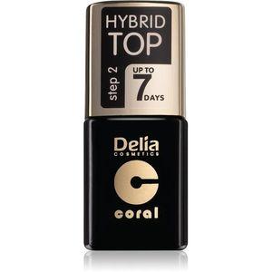 Delia Cosmetics Hybrid Gel zselés fedő körömlakk 11 ml kép
