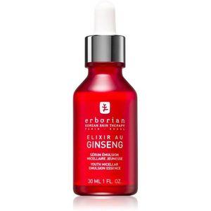 Erborian Ginseng Elixir micellás emulzió a bőr fiatalításáért 30 ml kép