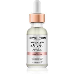 Revolution Skincare Stabilised Active Collagen bőrfeszesítő szérum az arcra hidratáló hatással 30 ml kép
