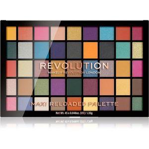 Makeup Revolution Maxi Reloaded Palette púderes szemhéjfesték paletta kép