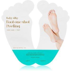 Holika Holika Baby Silky Foot hámlasztó maszk a berepedezett lábakra + zokni 2 x 20 ml kép