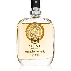 Avon Scent for Men Masculine Woody Eau de Toilette uraknak 30 ml kép