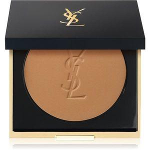 Yves Saint Laurent Encre de Peau All Hours Setting Powder kompakt púder matt hatásért árnyalat B65 Bronze 8.5 g kép