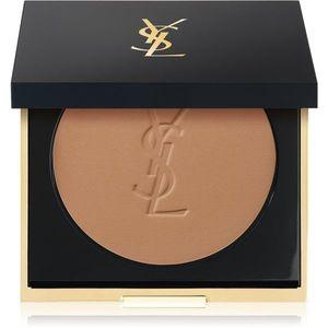 Yves Saint Laurent Encre de Peau All Hours Setting Powder kompakt púder matt hatásért árnyalat B60 Amber 8.5 g kép