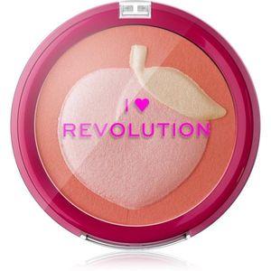 I Heart Revolution Fruity kompakt arcpirosító árnyalat Peach 9.2 g kép