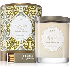KOBO Motif Tabac and Talc illatos gyertya 312 g kép