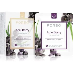 FOREO Farm to Face Acai Berry kisimító maszk 6 x 6 g kép