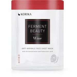 KORIKA FermentBeauty ráncok elleni gézmaszk fermentált szőlővel és hialuronsavval 20 g kép