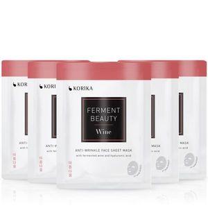 KORIKA FermentBeauty Wine and Hyaluronic Acid arcmaszk szett kedvezményes áron kép