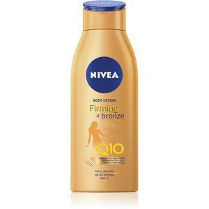 Nivea Q10 Firming + Bronze színező tej feszesítő hatással 400 ml kép