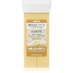 Arcocere Professional Wax Karité gyanta szőrtelenítéshez roll-on utántöltő 100 ml kép