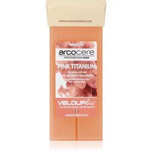 Arcocere Professional Wax Pink Titanium gyanta szőrtelenítéshez roll-on utántöltő 100 ml kép