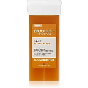 Arcocere Professional Wax Face Natural Honey gyanta szőrtelenítéshez az arcra utántöltő 100 ml kép