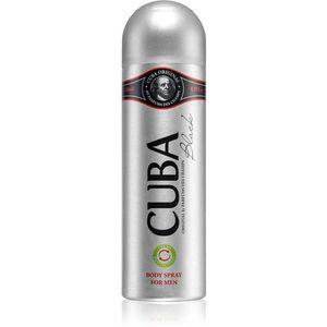 Cuba Black spray dezodor uraknak 200 ml kép