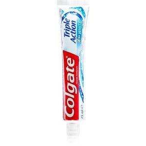 Colgate Triple Action Xtra White fogfehérítő paszta fluoriddal 75 ml kép