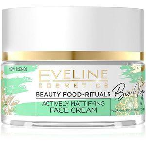 Eveline Cosmetics Bio Vegan normalizáló és mattító nappali és éjszakai krém 50 ml kép