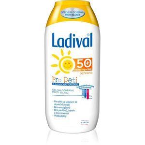 Ladival Kids védő krémes gél nap által kiváltott allergiás reakciók ellen SPF 50+ 200 ml kép