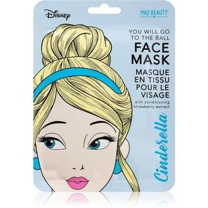 Mad Beauty Disney Princess Cinderella szövet arcmaszk az arcbőr élénkítésére és vitalitásáért 25 ml kép