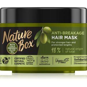 Nature Box Olive Oil maszk hajtöredezés ellen 200 ml kép