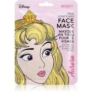 Mad Beauty Disney Princess Aurora nyugtató hatású gézmaszk levendulával 25 ml kép