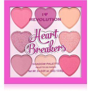 I Heart Revolution Heartbreakers szemhéjfesték paletta árnyalat Sweetheart 4.95 g kép