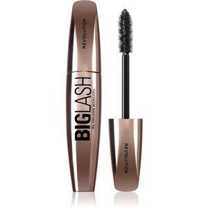 Makeup Revolution Big Lash Volume dúsító és hosszabbító szempillaspirál árnyalat Black 8 ml kép