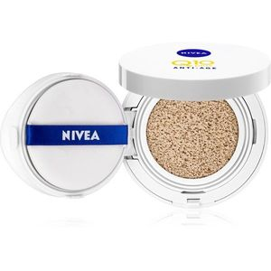 Nivea Q10 Plus Anti-Age szivacsos make-up ráncfeltöltő árnyalat 02 Dark 15 g kép