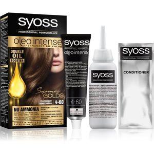Syoss Oleo Intense tartós hajfesték olajjal árnyalat 4-60 Gold Brown kép