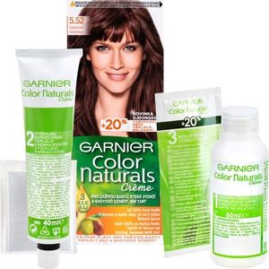 Garnier Color Naturals Creme hajfesték árnyalat 5.52 Iridescent Mahogany kép