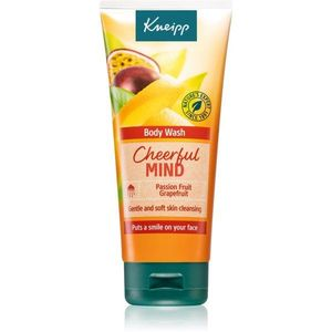Kneipp Cheerful Mind Passion Fruit & Grapefruit energizáló tusfürdő gél 200 ml kép