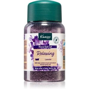 Kneipp Relaxing Lavender fürdősó ásványi anyagokkal 500 g kép
