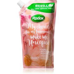 Radox Make Me Unique hidratáló szappan kézre 500 ml kép