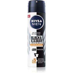 Nivea Men Invisible Black & White izzadásgátló spray kép