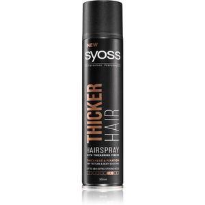 Syoss Thicker Hair hajlakk extra erős fixáló hatású 300 ml kép
