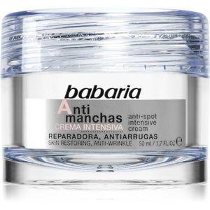 Babaria Anti Spot intenzív éjszakai krém a pigment foltok ellen 50 ml kép
