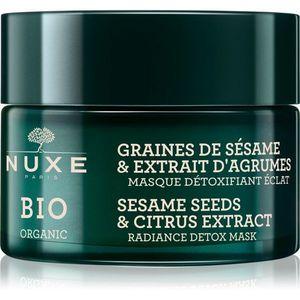 Nuxe Bio detoxikációs maszk az élénk bőrért 50 ml kép