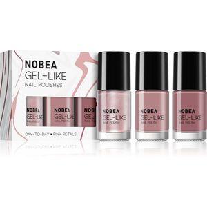 NOBEA Day-to-Day körömlakk szett Pink Petals árnyalat kép