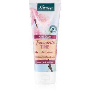Kneipp Favourite Time Cherry Blossom ápoló kézkrém 75 ml kép