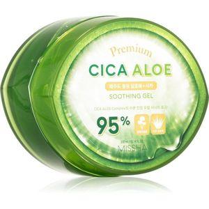 Missha Premium Cica Aloe hidratáló és nyugtató gél Aloe Vera tartalommal 300 ml kép