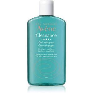Avène Cleanance tisztító gél az aknéra hajlamos zsíros bőrre 200 ml kép