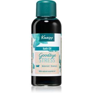 Kneipp Goodbye Stress nyugtató fürdőolaj 100 ml kép