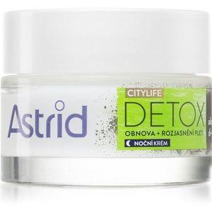 Astrid CITYLIFE Detox megújító éjszakai krém 50 ml kép