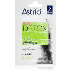 Astrid CITYLIFE Detox tisztító maszk 2x8 ml kép