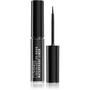 MAC Cosmetics Liquidlast 24 Hour Waterproof Liner szemhéjtus árnyalat Point Black 2.5 ml kép