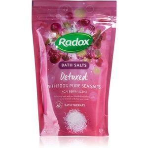 Radox Detoxed fürdősó méregtelenítő hatással 900 g kép