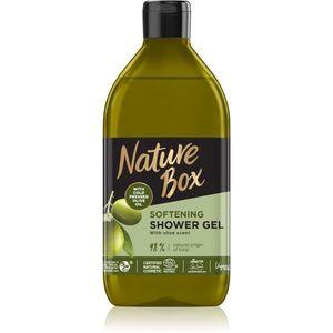 Nature Box Olive Oil bőrlágyító tusfürdő gél 385 ml kép